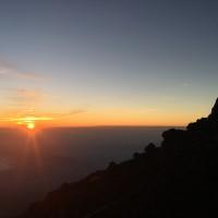 富士山頂から