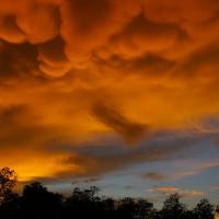 ボルネオ島の雲