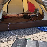 古いテントのリニューアルⅡ